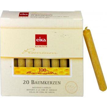 Eika Baumkerzen Bienenwachs 100 %
