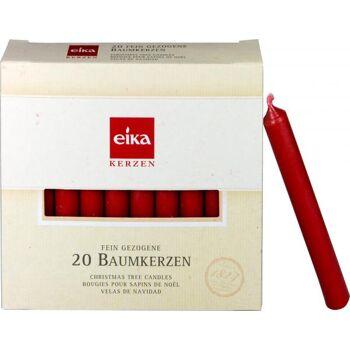 Eika Baumkerzen Rot