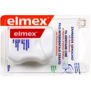 Elmex Zahnseide Gewachst Mint