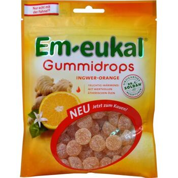 Em-Eukal Gummidrops Ingwer / Orange