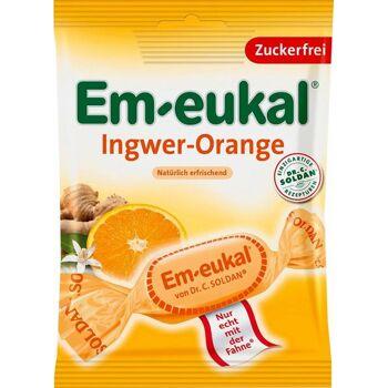 Em-Eukal Ingwer Orange Zuckerfrei
