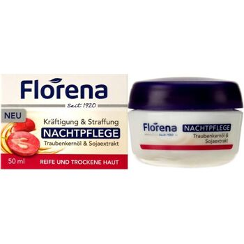 Florena Gesicht Traubenkernöl Nachtcreme