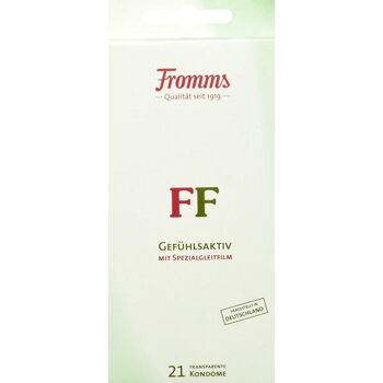 Fromms FF Gefühlsaktiv Kondome mit Spezialgleitfilm