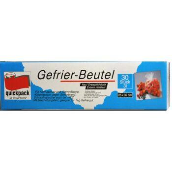 Gefrierbeutel 3 Liter 32 x 25 cm