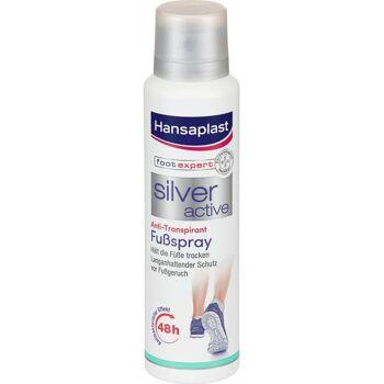 Hansaplast Fußspray Silver Activ