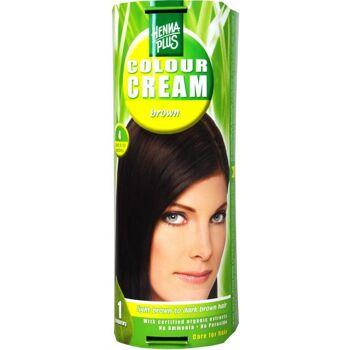 Hennaplus Colour Cream Braun