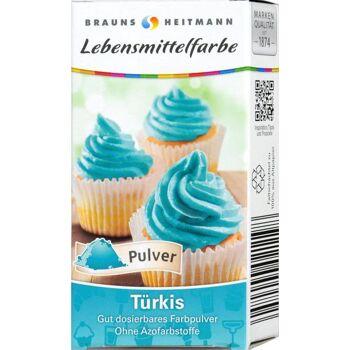 Lebensmittelfarbe Türkis