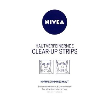 Nivea Hautverfeinernde Clear-Up Strips