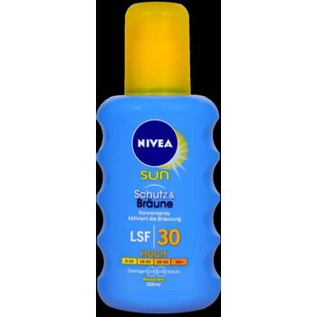 Nivea Sun Protect and Bronze Sonnenspray LSF 30