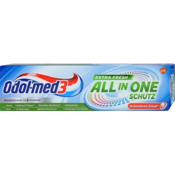 Odol-med3 All-in-One Schutz Extra Fresh 75ml