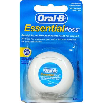 Oral-B Zahnseide Essential Floss Ungewachst