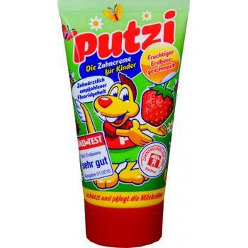 Putzi Kinder Zahncreme Erdbeer