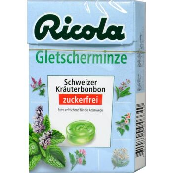 Ricola Böxli Gletscherminze Zuckerfrei