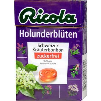Ricola Böxli Holunder Zuckerfrei