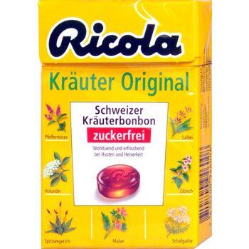 Ricola Böxli Kräuterbonbon Zuckerfrei