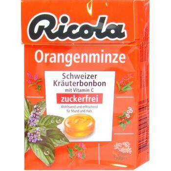 Ricola Böxli Orangenminze Zuckerfrei