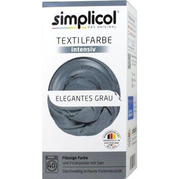 Simplicol Intensiv Textilfarbe Elegantes-Grau