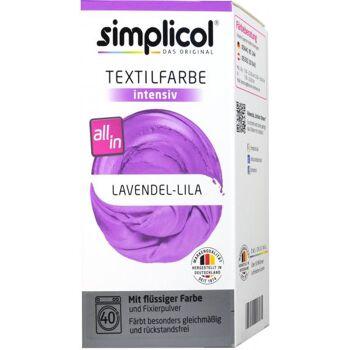 Simplicol Intensiv Textilfarbe Lavendel-Lila