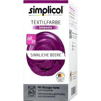 Simplicol Intensiv Textilfarbe Sinnliche Beere