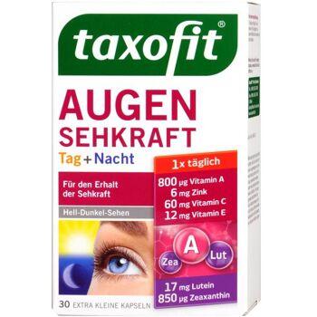 Taxofit Augen Sehkraft Tag und Nacht Kapseln 15 mg