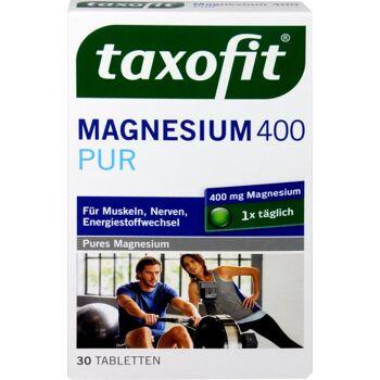 Taxofit Magnesium 400 mg Pur