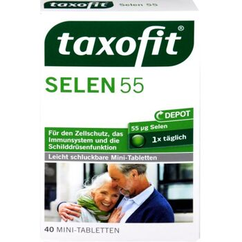 Taxofit Selen und Hefe Tabletten