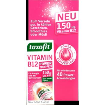 Taxofit Vitamin B 12 Power Tropfen