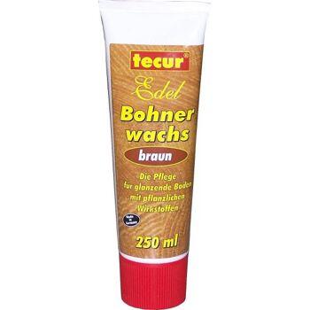 Tecur Bohnenwachs Braun Tube