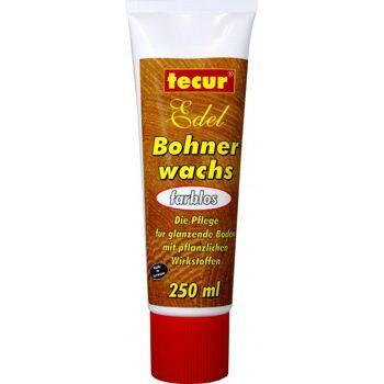 Tecur Bohnenwachs Farblos Tube
