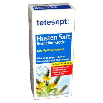 Tetesept Hustensaft Bronchial Aktiv
