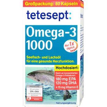 Tetesept Omega 3 Lachsöl 1000