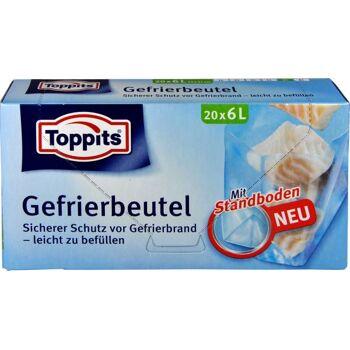 Toppits Gefrierbeutel 6 l