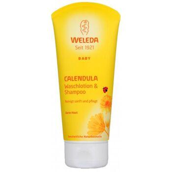 Weleda Calendula Waschlotion und Shampoo