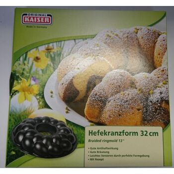 12-2300956923, KAISER Hefekranzform 32 cm