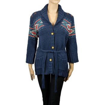 Wrangler Damen Strickjacke Gr.S gestrickte Damen Jacke Strick Jacken 15091503
