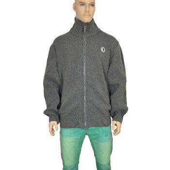 ARQUEONAUTAS Herren Strickjacke gestrickte Jacke übergröße Strick Jacken 30011603