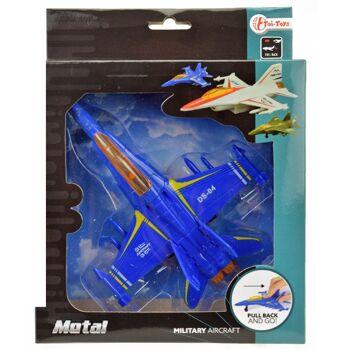 28-218558, Metall Flugzeug, Jet mit Antrieb