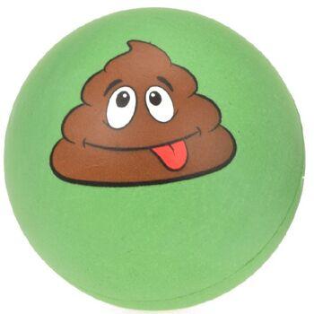 28-353563, Antistressball 7 cm, Poo-Gesicht,