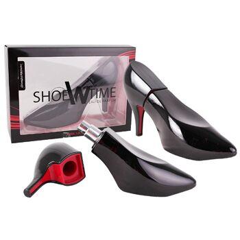 Damen Parfüm Eau de Parfum Damenduft SHOEWTIME Spray Schuh Femme Duft 90 ml - 8,90 Euro