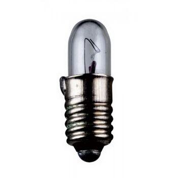 Kleinstlampen Sockel E5,5 12,0 Volt 1,8 Watt 15mm klar,10er Pack