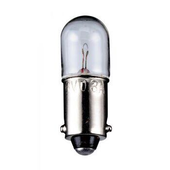 Röhrenlampe Sockel BA9s 24,0 Volt 5,0 Watt 28mm klar,10er Pack