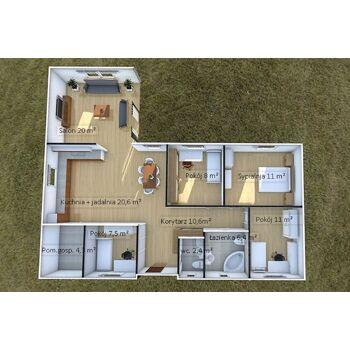 Fertighäuser aus Holz Max 5 (104 m²)