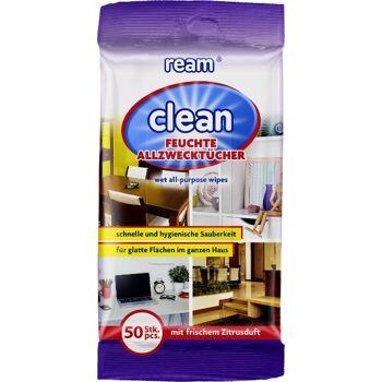 12-11060, ReAm Clean Allzwecktücher 50er Pack