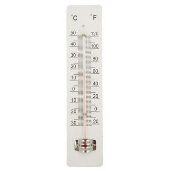 28-651299, Holz Thermometer für Innen und Außen+++++++
