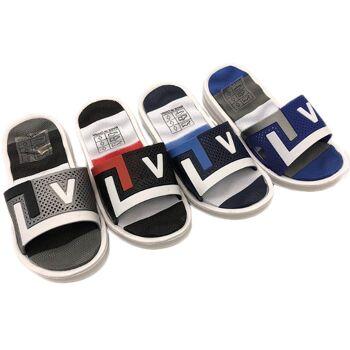 Kinder Trend Slippers Strandschuh Sport Sommer Schuh Shoes Slip on Sandale Sandalette Pantolette nur 3,39 Euro