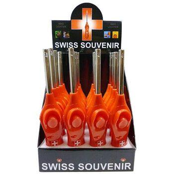 138/5000 BBQ Feuerzeuge mit Schweiz Flagge!
