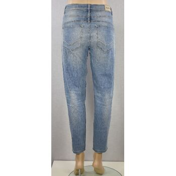 Tigerhill Aimi Roll Up Damen Boyfried Stretch Jeans Hosen 23 Stück, Paket T01
