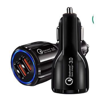 Car Quick Charger 3.1 A Dual USB Port Auto