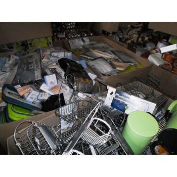 Restposten Discounter Hartware Non-Food A/B Ware Haushaltsware Mischpaletten Küche Spiel Garten Werkzeug Mix