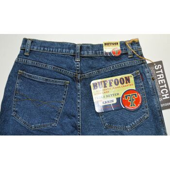 Buffoon Stretch Jeans Hose W30L34 Damen Jeans Hosen 6-1436